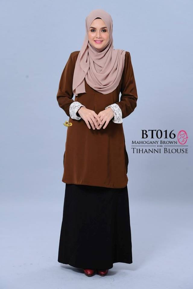 BLOUSE SATIN TIHANNI II BT016 AA