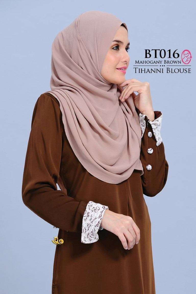 BLOUSE SATIN TIHANNI II BT016
