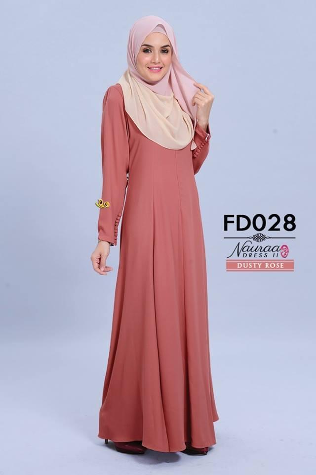 DRESS NAURA FURSAN II FD028