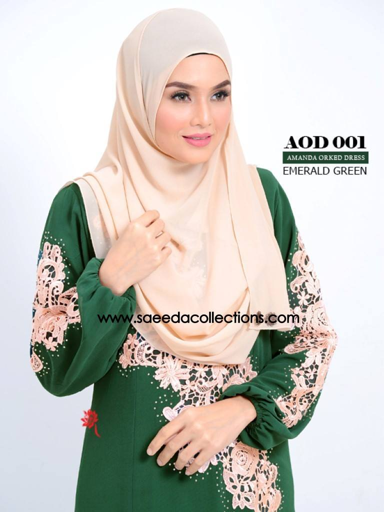 DRESS AMANDA AOD 001 AA