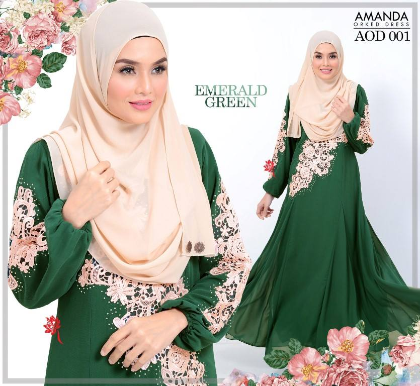 DRESS AMANDA AOD 001 BB