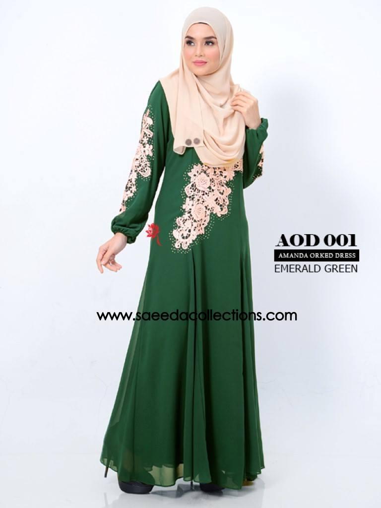 DRESS AMANDA AOD 001