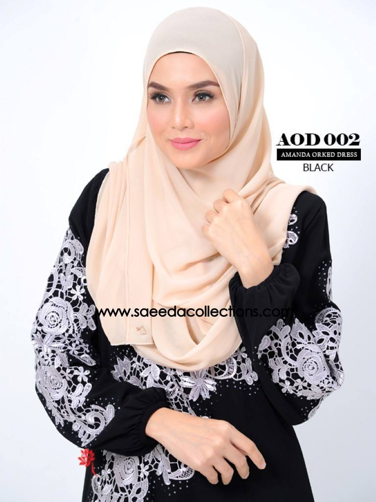 DRESS AMANDA AOD 002 AA