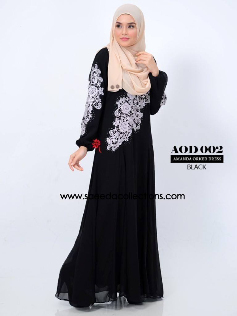 DRESS AMANDA AOD 002