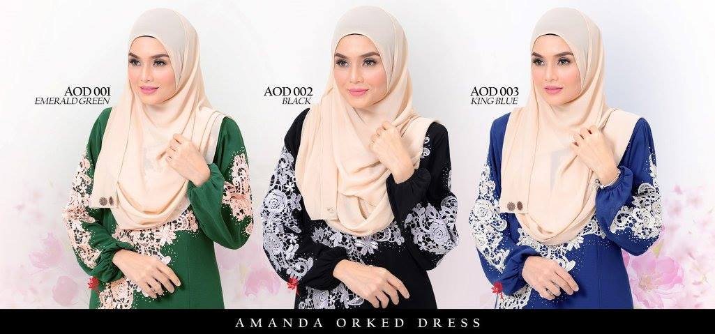 DRESS AMANDA AOD ALL