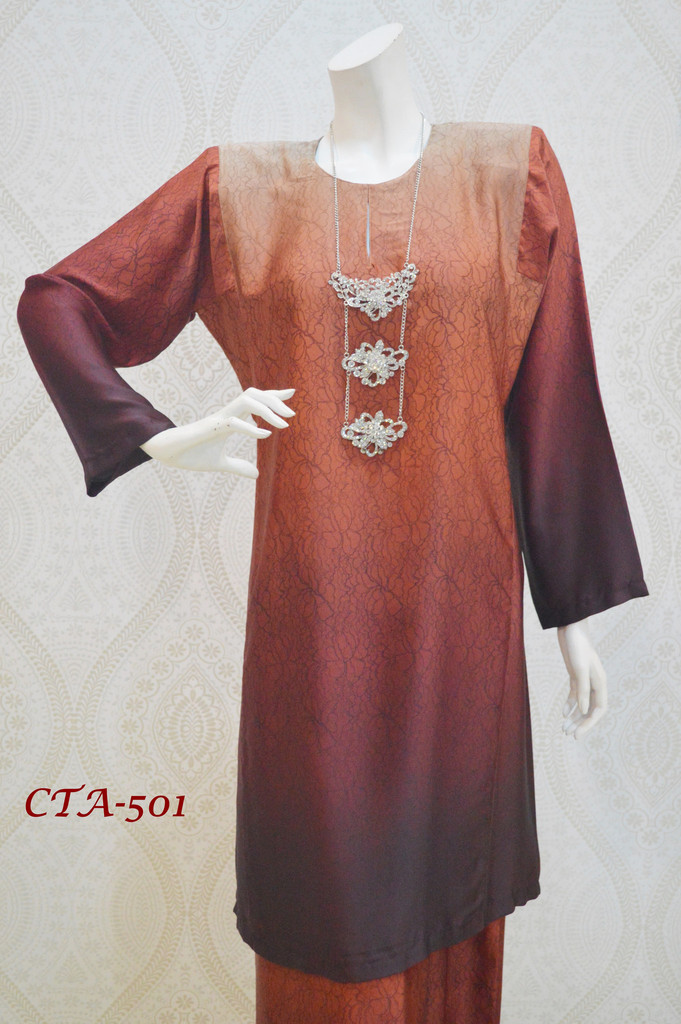 BAJU KURUNG PAHANG COLOR TONE AYUNI CTA501 AA