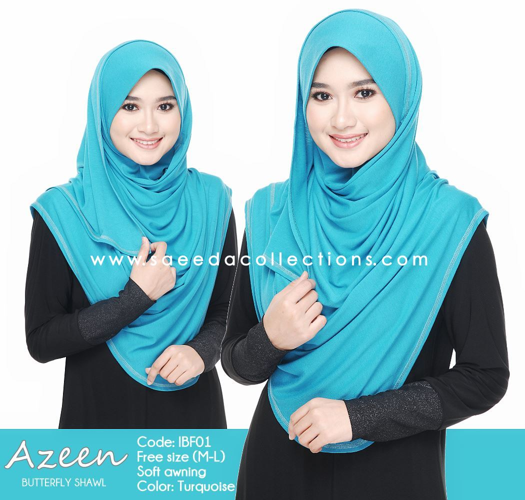 SHAWL COTTON AZEEN IBF01