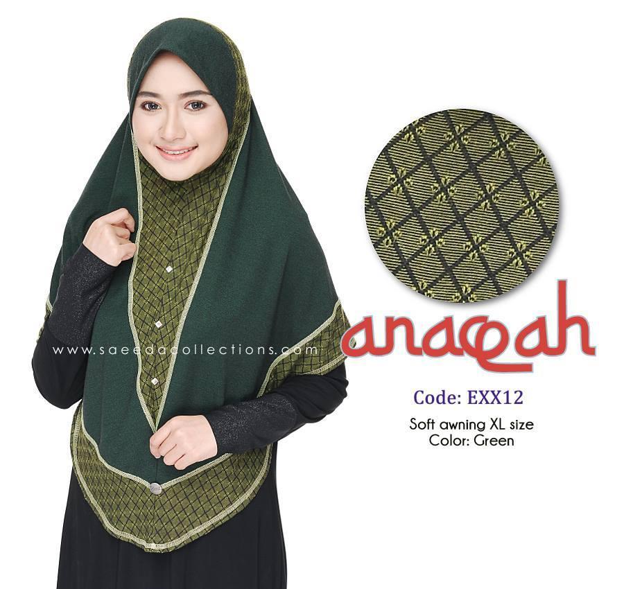 TUDUNG DENIM ANAQAH SAIZ XL KOD EXX12
