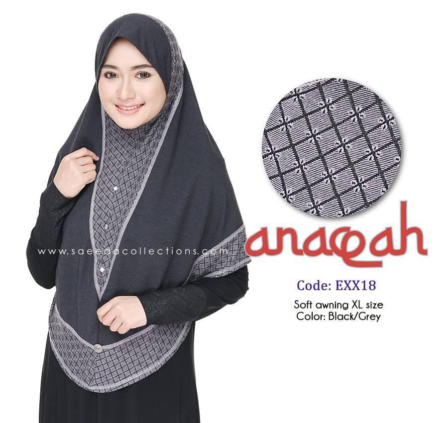 TUDUNG DENIM ANAQAH SAIZ XL KOD EXX18