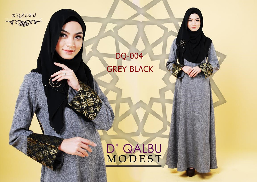 DRESS DQALBU COTTON LINEN SONGKET DQ004