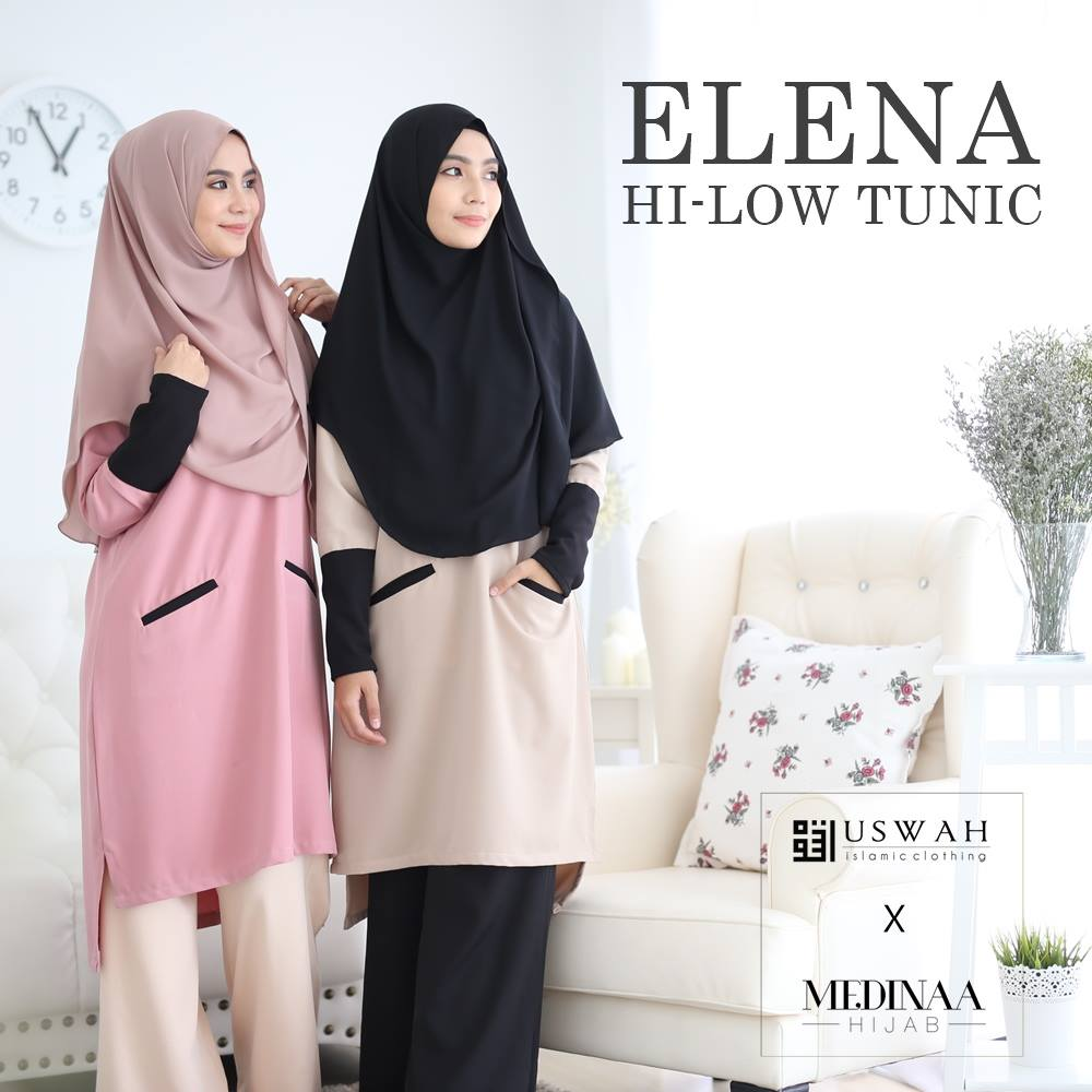ELENA HI LOW TUNIC 1
