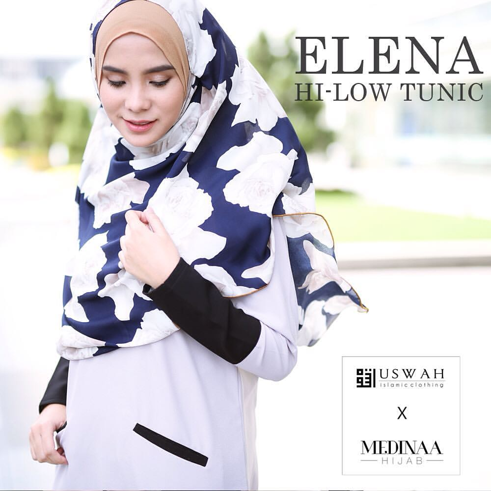 ELENA HI LOW TUNIC 4