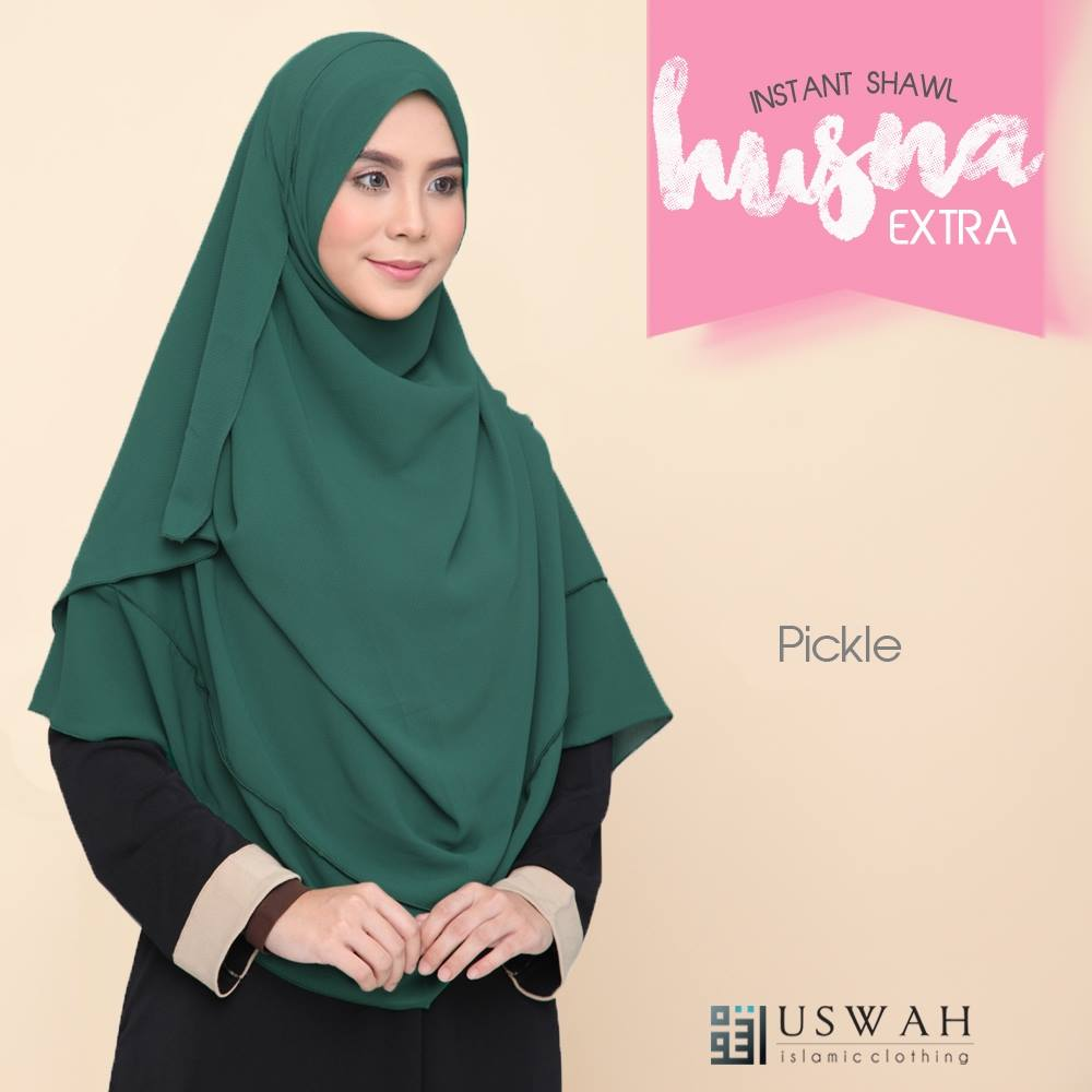 INSTANT SHAWL HUSNA EXTRA PICKLE