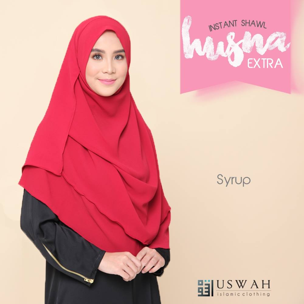 INSTANT SHAWL HUSNA EXTRA SYRUP