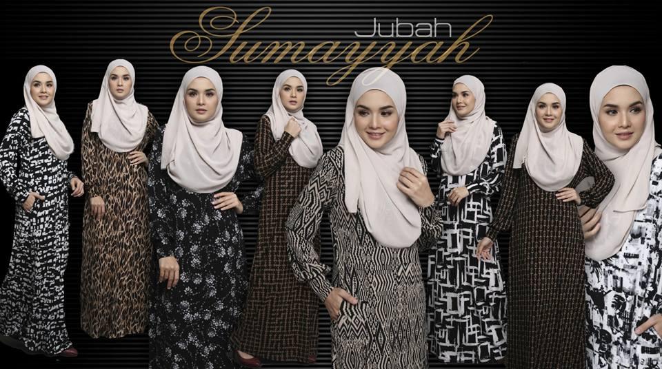 JUBAH LYCRA SUMAYYAH JS ALL