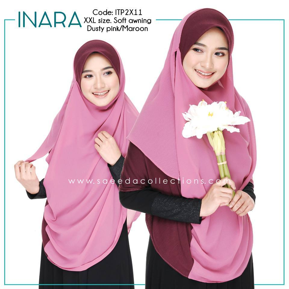 SHAWL DOUBLE LOOP INARA XXL ITP2X11