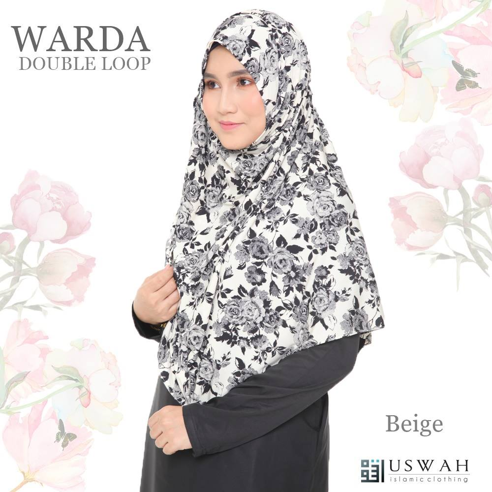 WARDA DOUBLE LOOP BEIGE