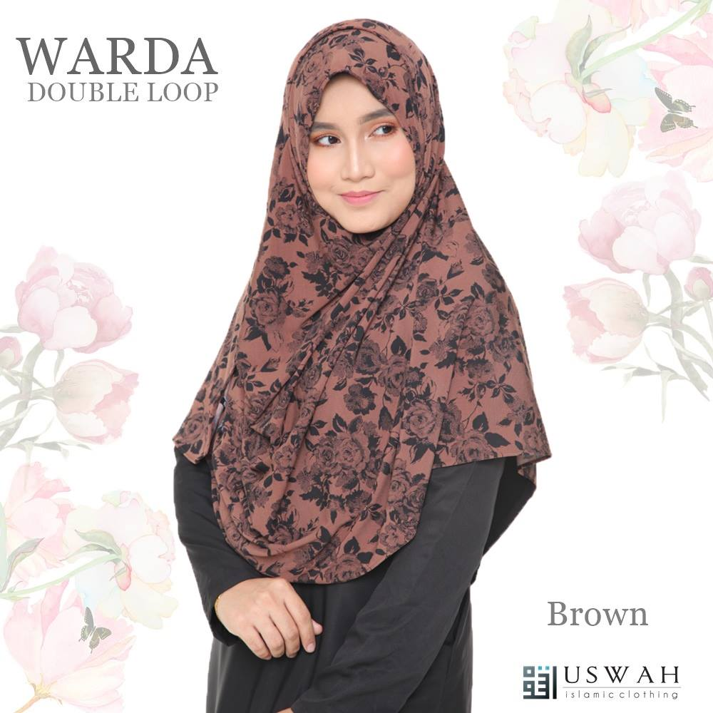 WARDA DOUBLE LOOP BROWN