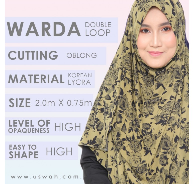 WARDA DOUBLE LOOP DETAILS