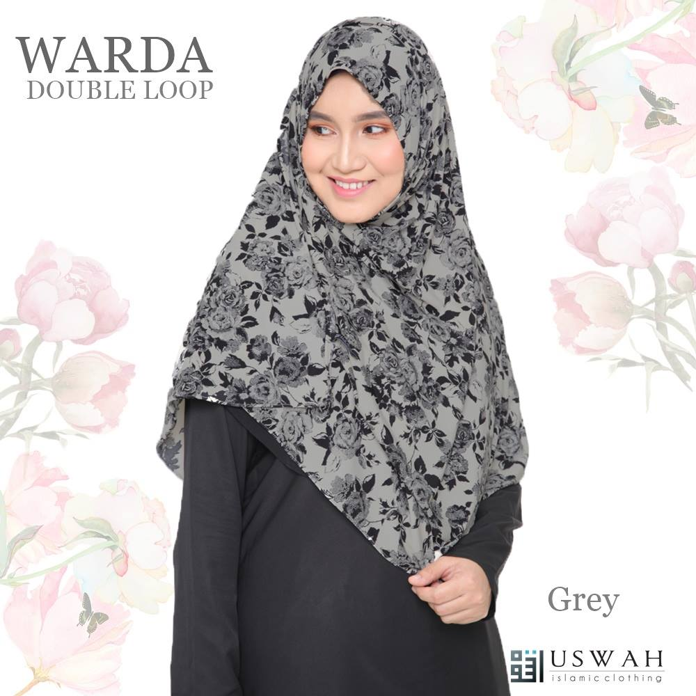 WARDA DOUBLE LOOP GREY