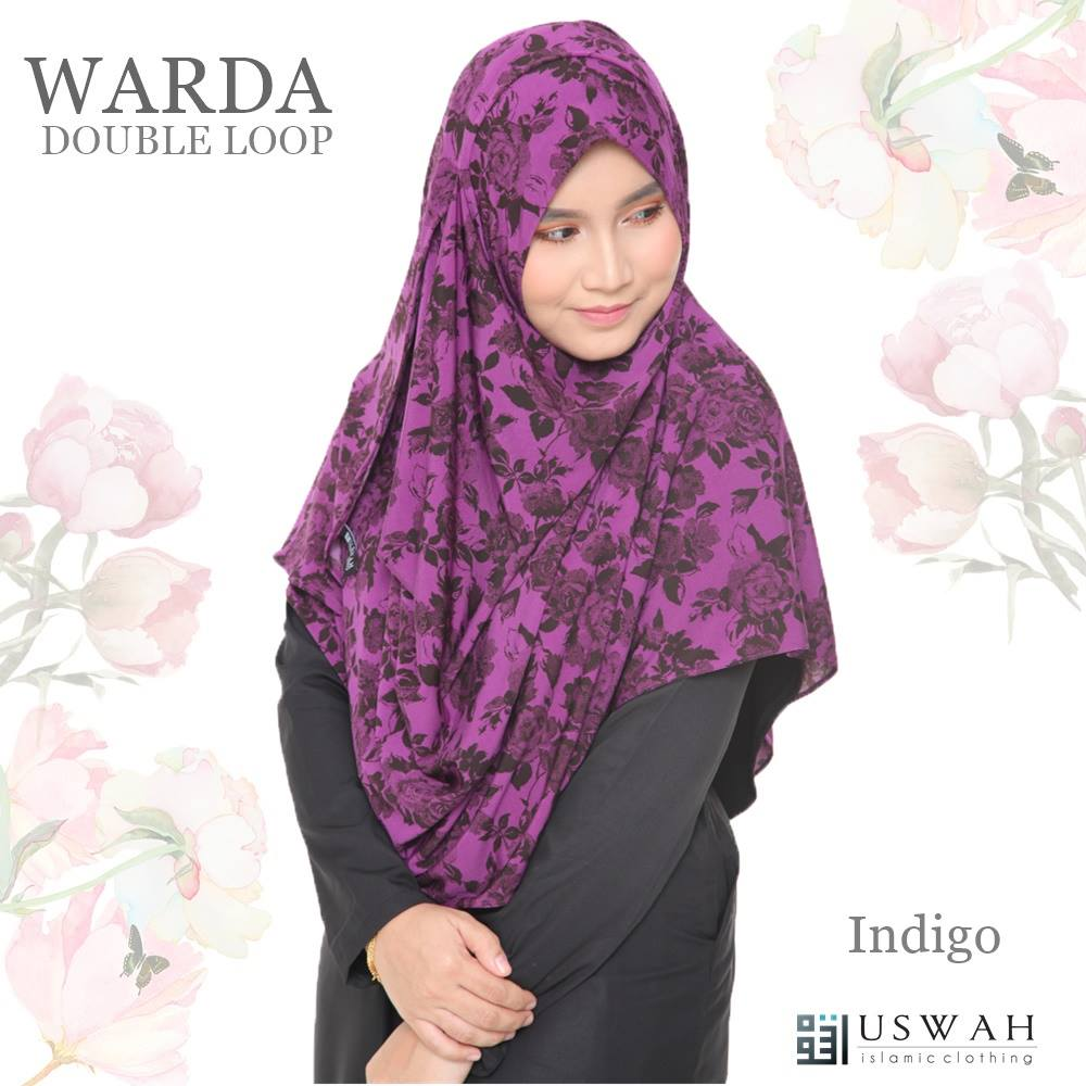 WARDA DOUBLE LOOP INDIGO