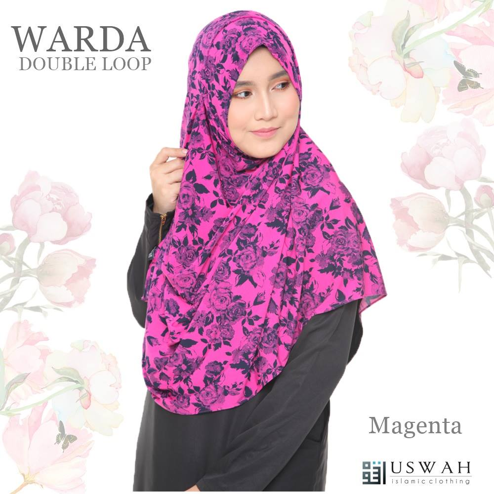 WARDA DOUBLE LOOP MAGENTA