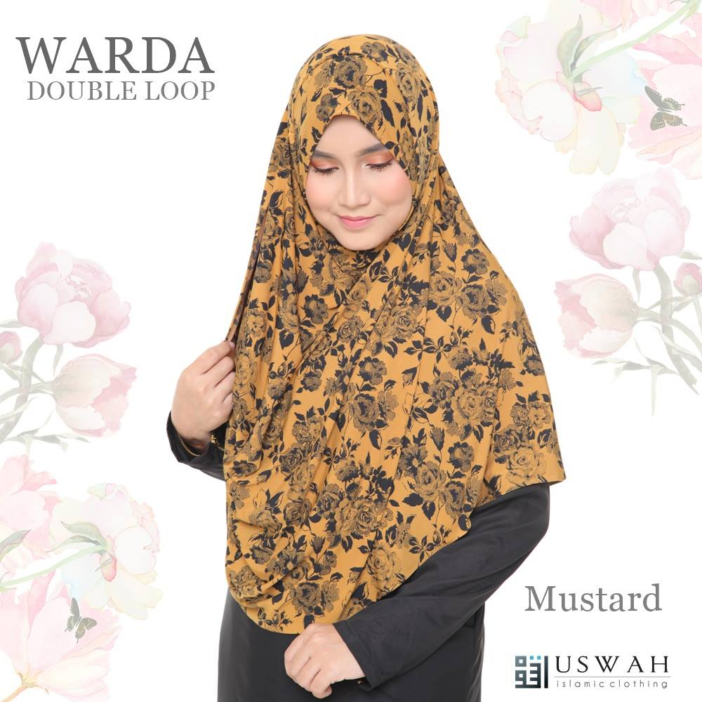 WARDA DOUBLE LOOP MUSTARD