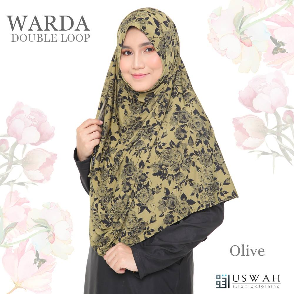 WARDA DOUBLE LOOP OLIVE