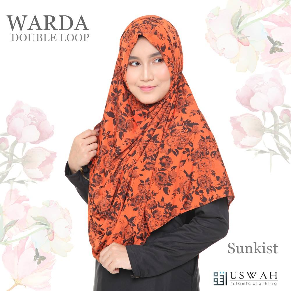 WARDA DOUBLE LOOP SUNKIST