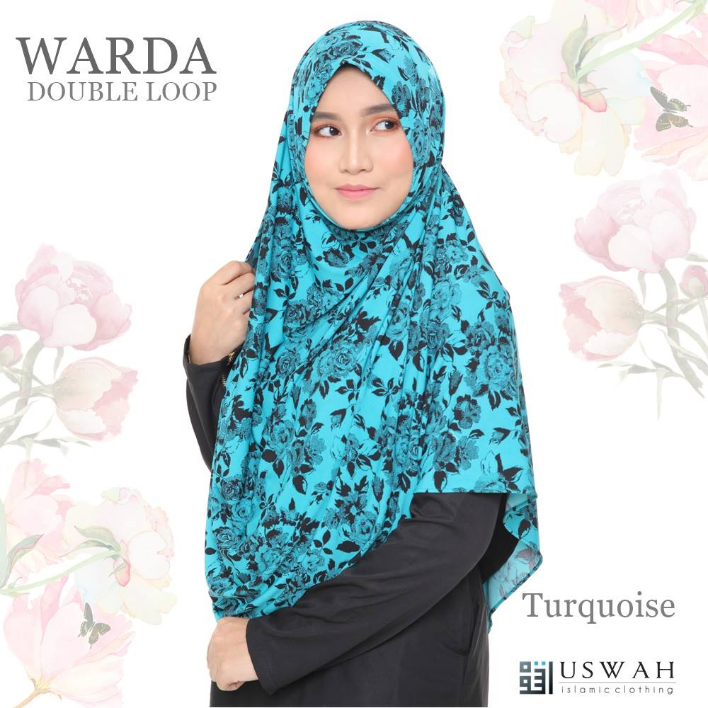 WARDA DOUBLE LOOP TURQOUISE