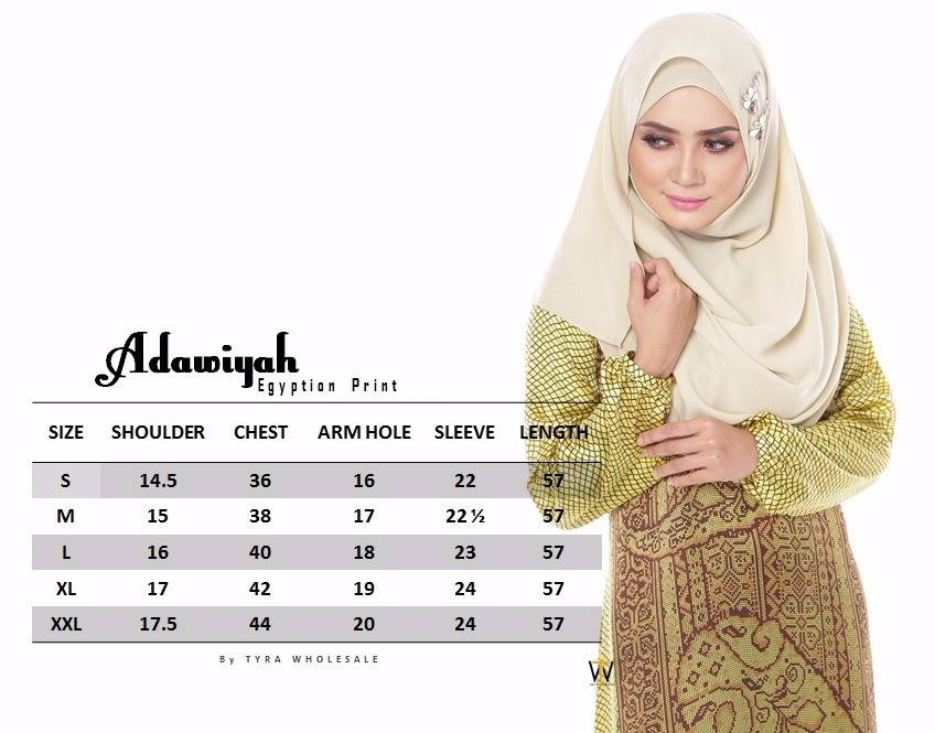 ADAWIYAH EGYPTION PRINT ADW UKURAN