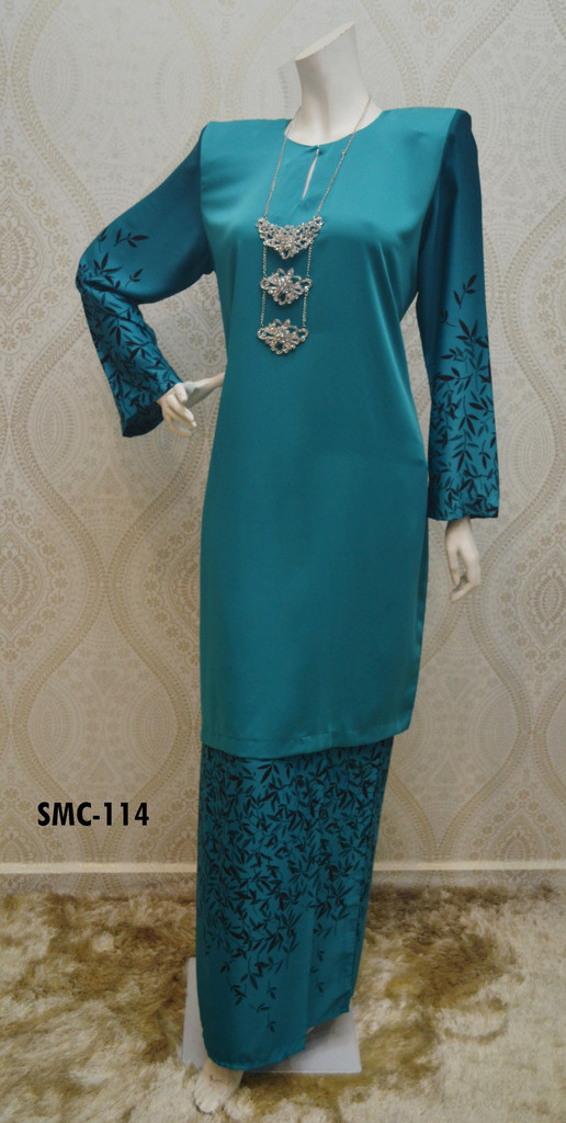 BAJU KURUNG CREPE SAKURA COLLECTION SMC 114