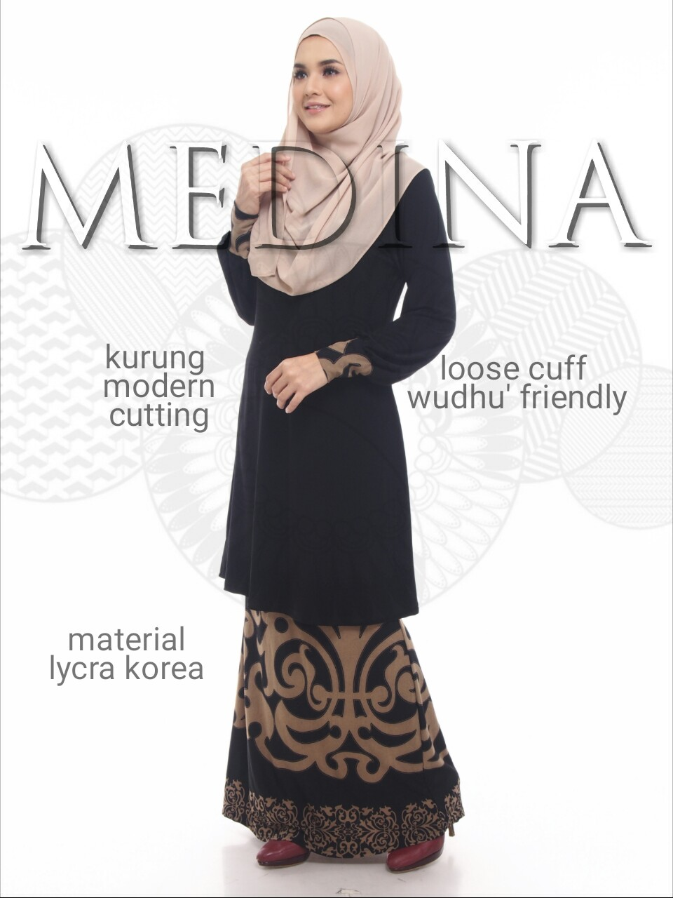 BAJU KURUNG LYCRA MEDINA 3 MD FEATURE