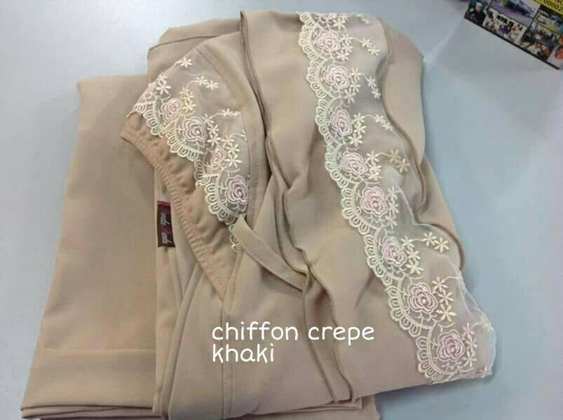 RR2 CHIFFON CREPE KHAKI
