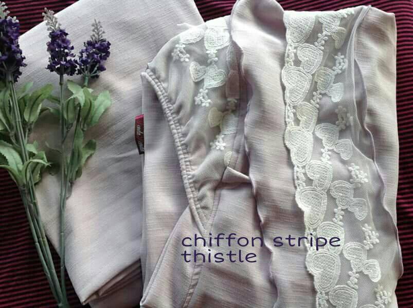 RR2 CHIFFON STRIPE THISTLE