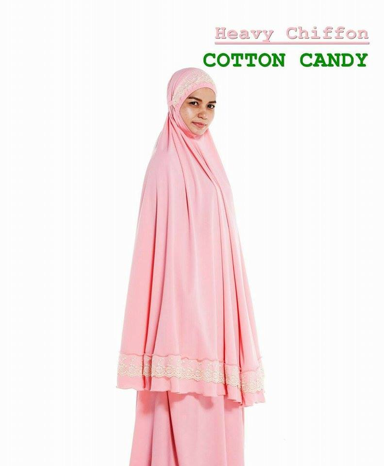 RR2 HEAVY CHIFFON COTTON CANDY