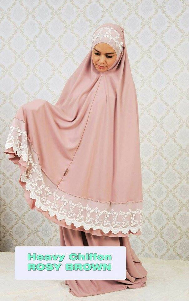 RR2 HEAVY CHIFFON ROSY BROWN 1