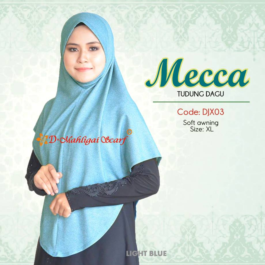 TUDUNG DENIM MECCA DJX03