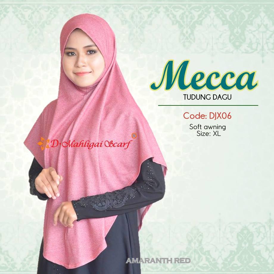 TUDUNG DENIM MECCA DJX06