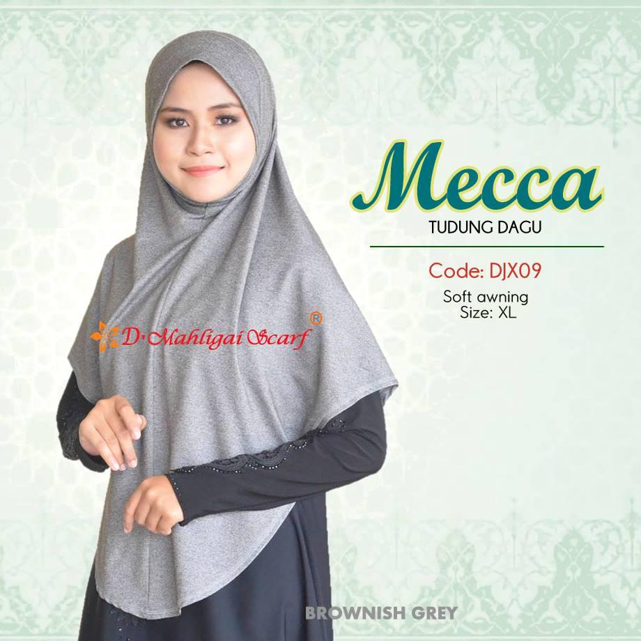 TUDUNG DENIM MECCA DJX09