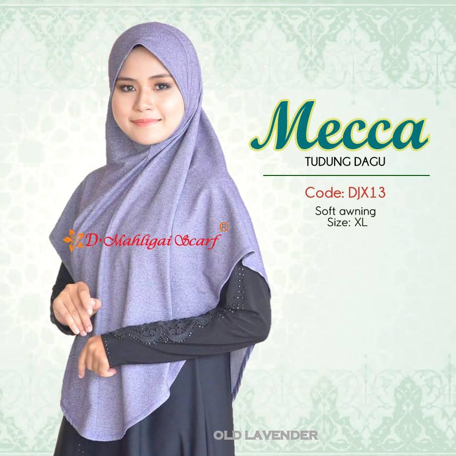 TUDUNG DENIM MECCA DJX14