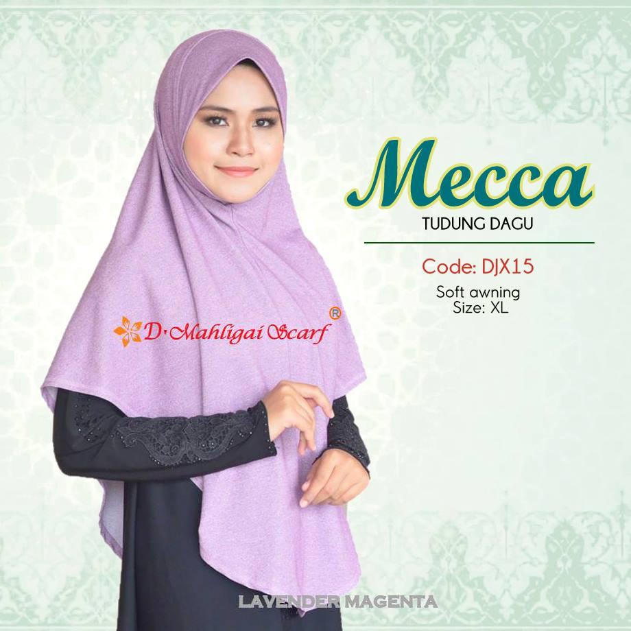 TUDUNG DENIM MECCA DJX15