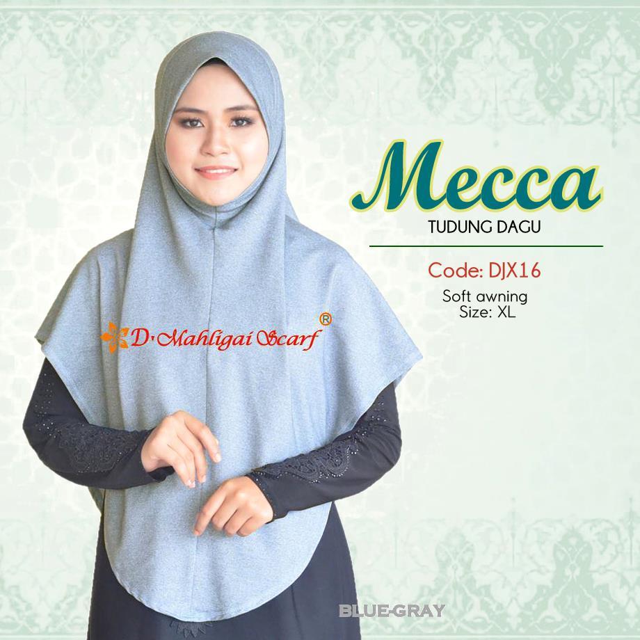 TUDUNG DENIM MECCA DJX16