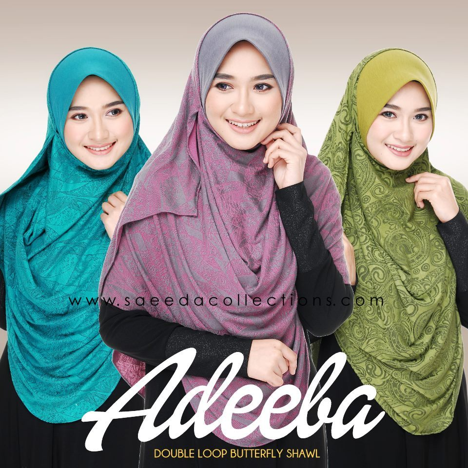 TEASER DOUBLE LOOP ADEEBA JACQUARD COTTON