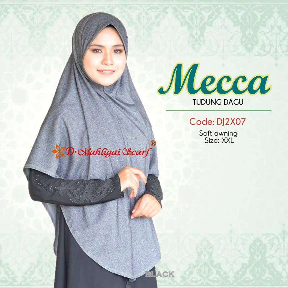 TUDUNG DENIM BERDAGU XXL MECCA DJ2X07