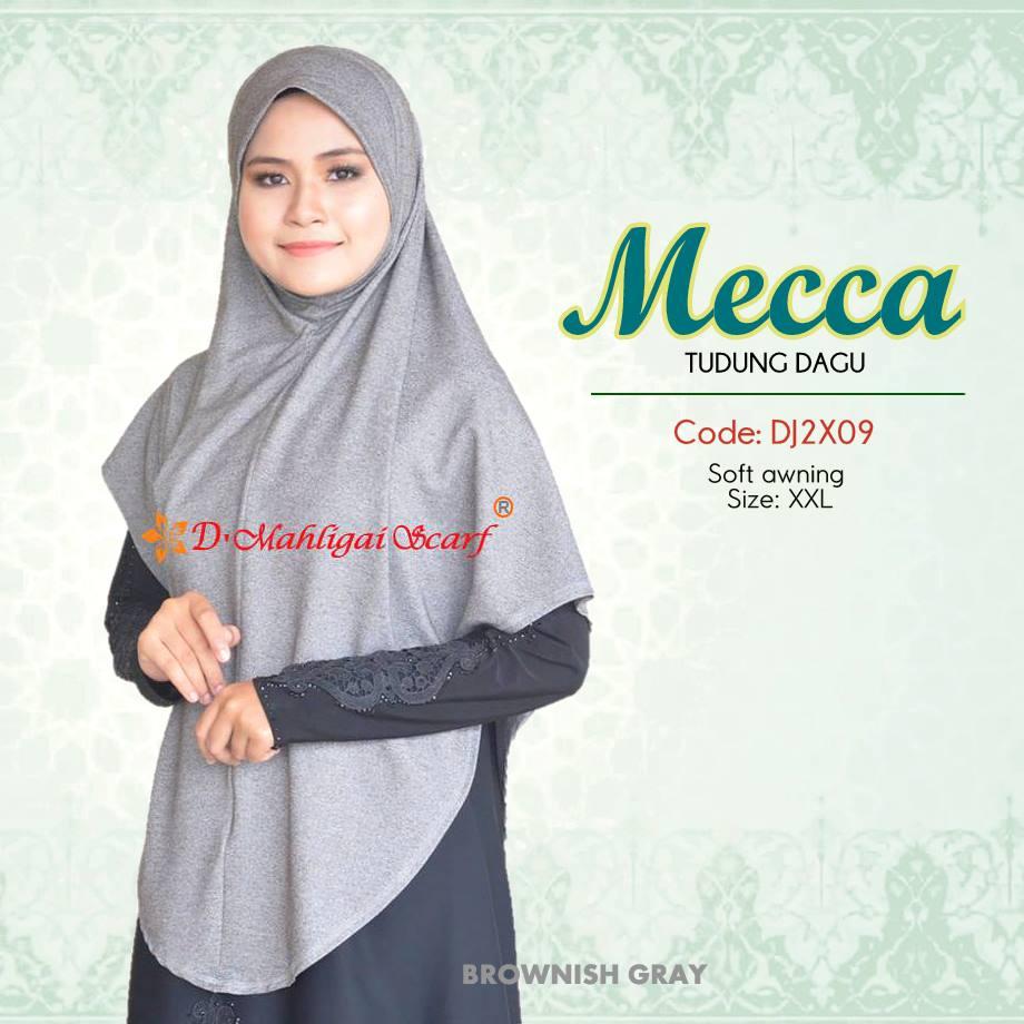 TUDUNG DENIM BERDAGU XXL MECCA DJ2X08