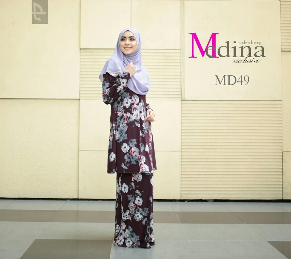 BAJU KURUNG RAYA MEDINA MD49 A