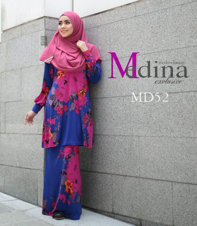 BAJU KURUNG RAYA MEDINA MD52 A