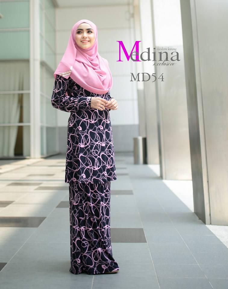 BAJU KURUNG RAYA MEDINA MD54 A