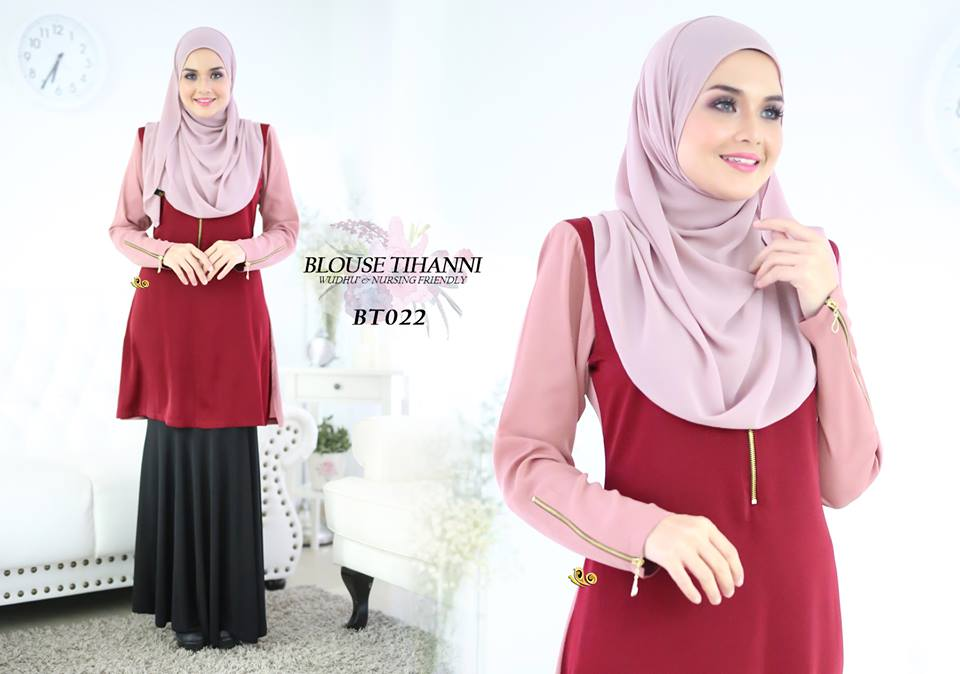 BLOUSE SATIN TIHANNI III BT022